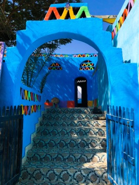 Entrance to Nubian house