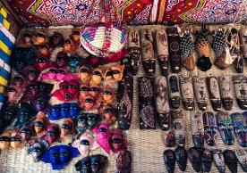Market in Nubian village